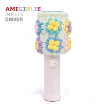 AMIGIRLIE WHITE Handmade Golf Headcovers