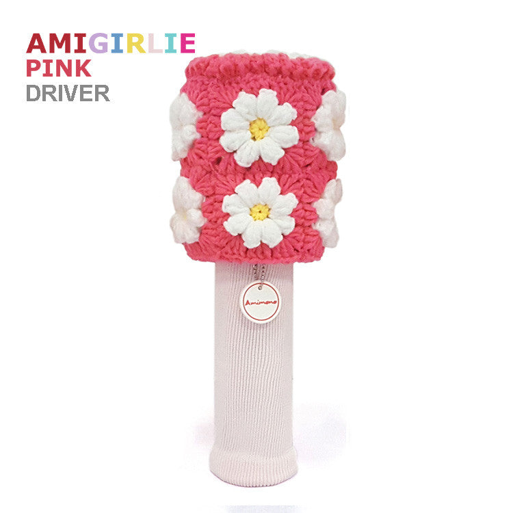 AMIGIRLIE PINK Handmade Golf Headcovers