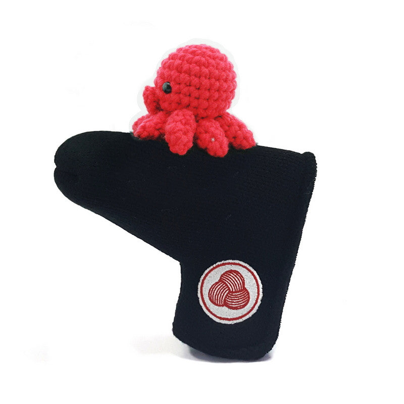 Octopus Golf Putter Cover