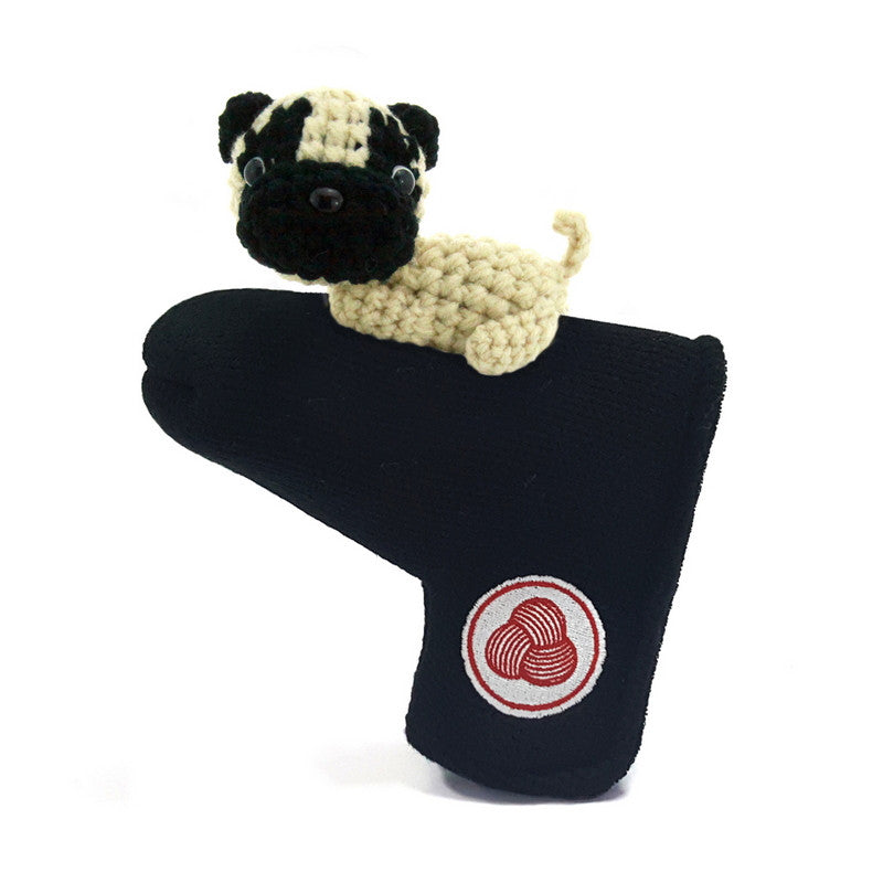Pug  Golf Putter Cover