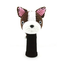 Boston Terrier Golf Driver Head Cover