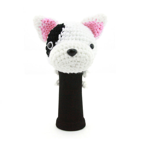 Bull Terrier Golf Driver Head Cover
