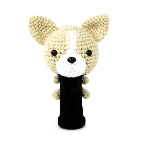 Chihuahua Golf Driver Head Cover