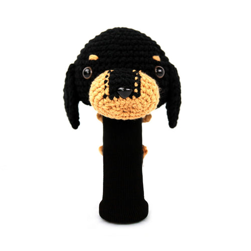 Dachshund Golf Driver Head Cover