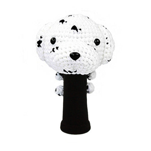 Dalmatian Golf Driver Head Cover