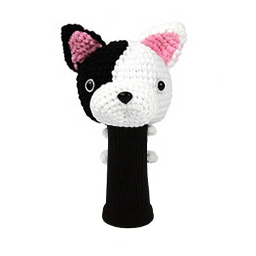 French Bulldog  Golf Driver Head Cover