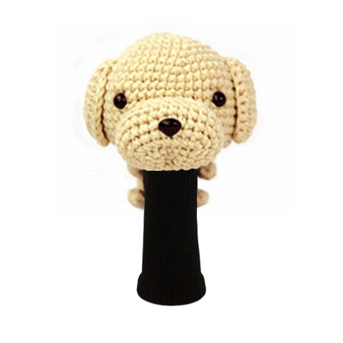 Labrador Retrtever Golf Driver Head Cover