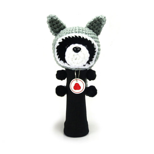 Raccoon Golf Fairway Wood Cover