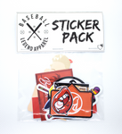 Brand Sticker Pack - Baseball Legend Apparel