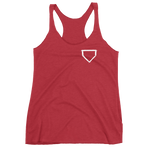 Ladies Logo Tank - Baseball Legend Apparel