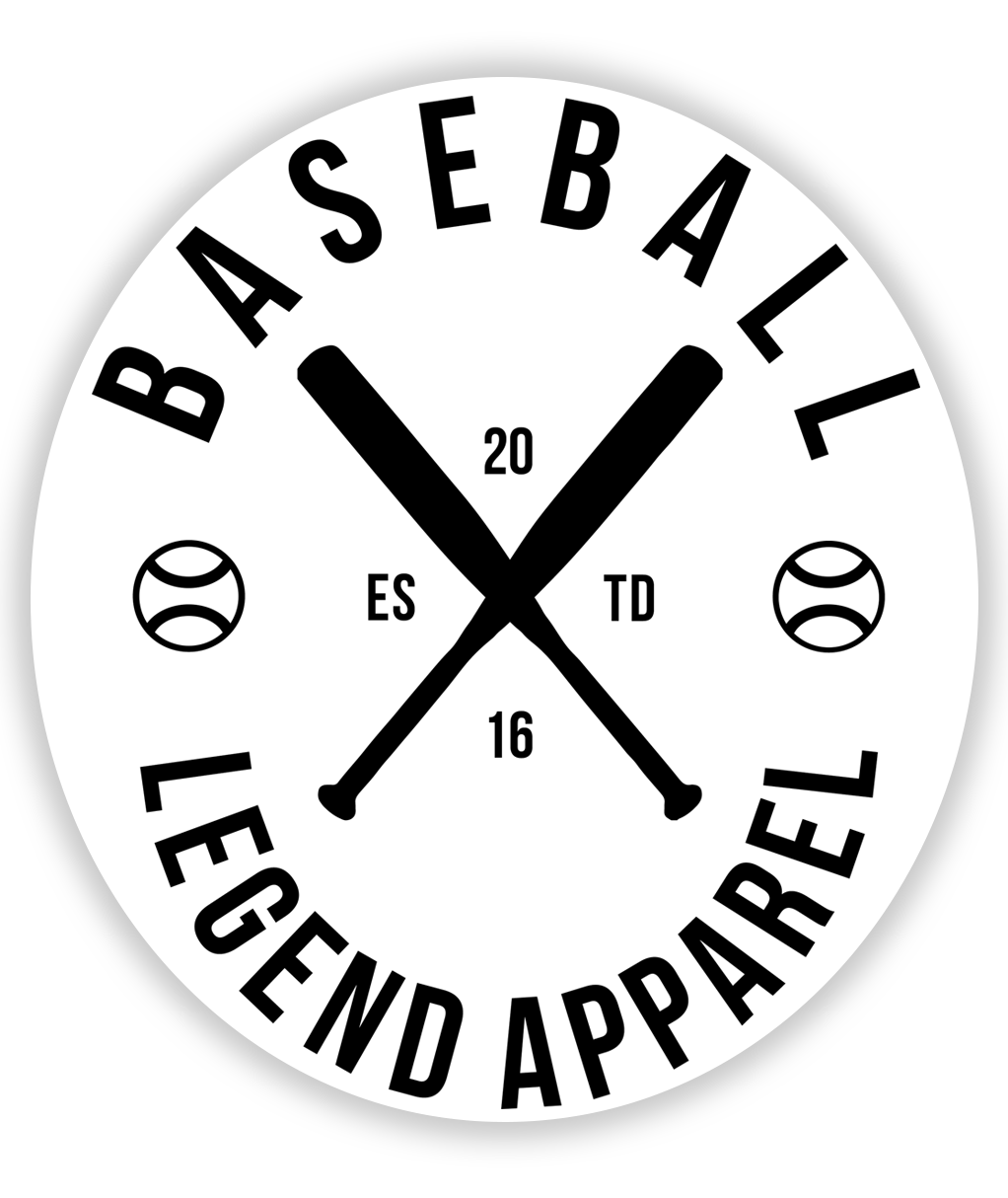Brand Sticker - Baseball Legend Apparel