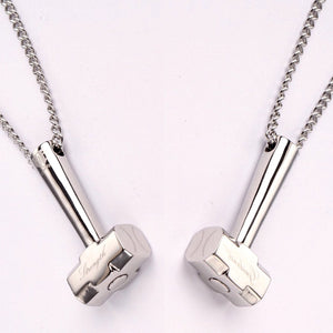 Stainless Hammer Pendant with Chain - Baseball Legend Apparel
