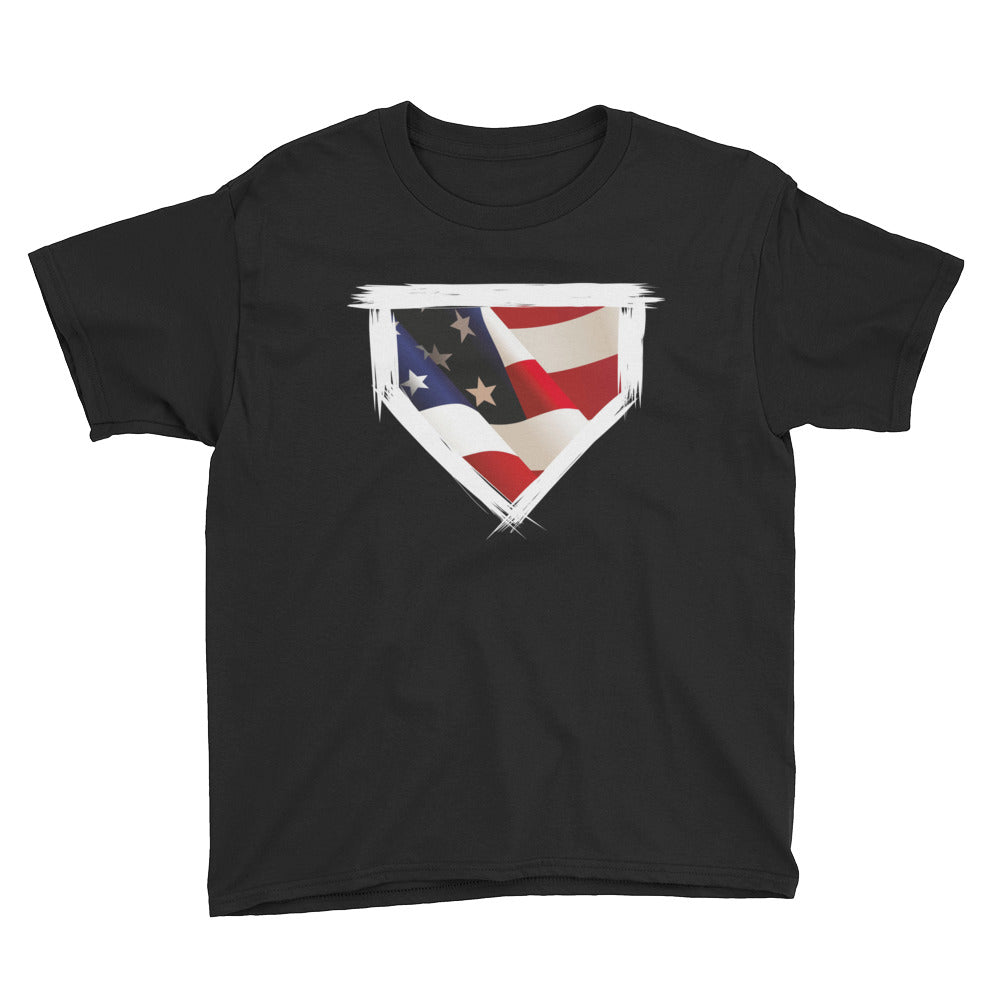 'Merica Youth Tee - Baseball Legend Apparel