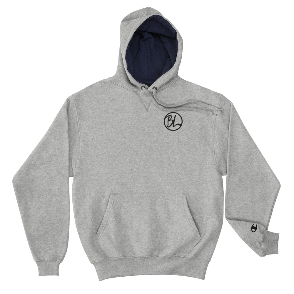 Logo Embroidered Champion Hoodie - Baseball Legend Apparel