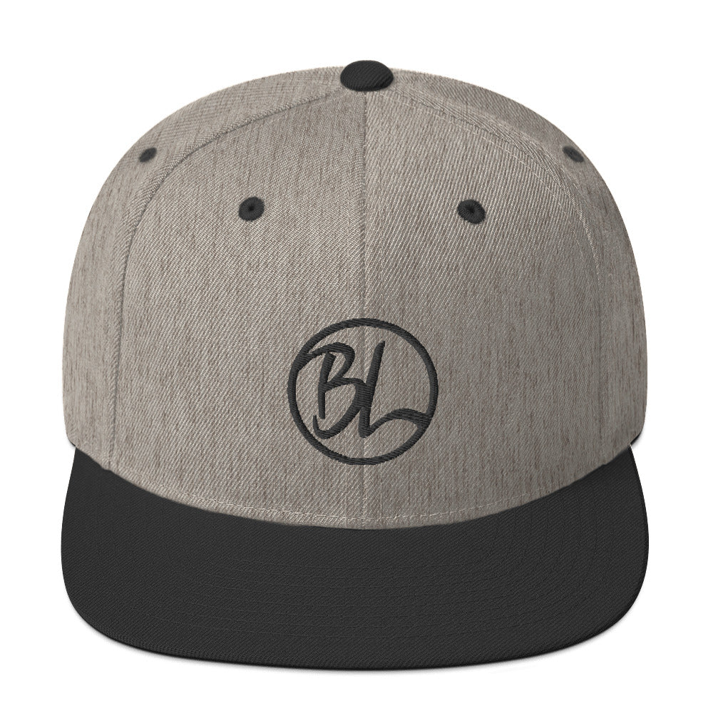 BL Yupoong Wool Blend Snapback - Baseball Legend Apparel