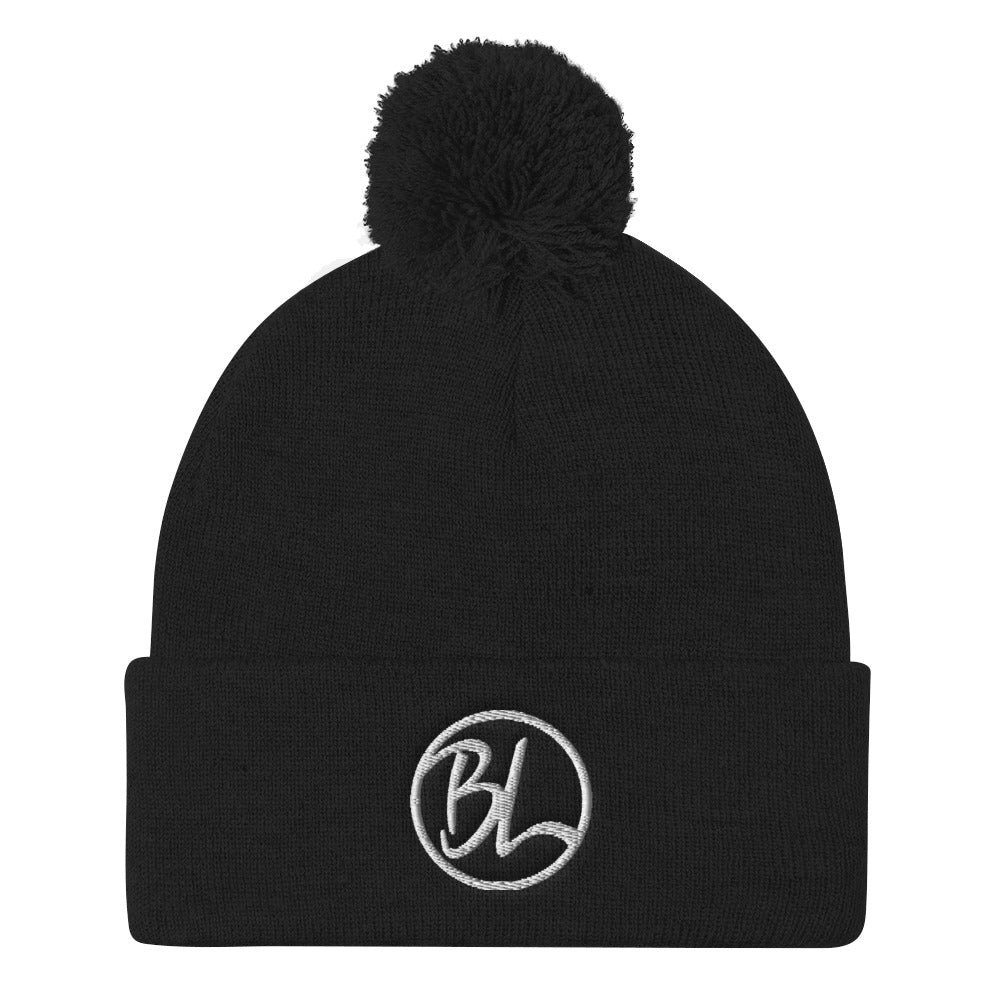 BL Pom Pom Knit Cap - Baseball Legend Apparel