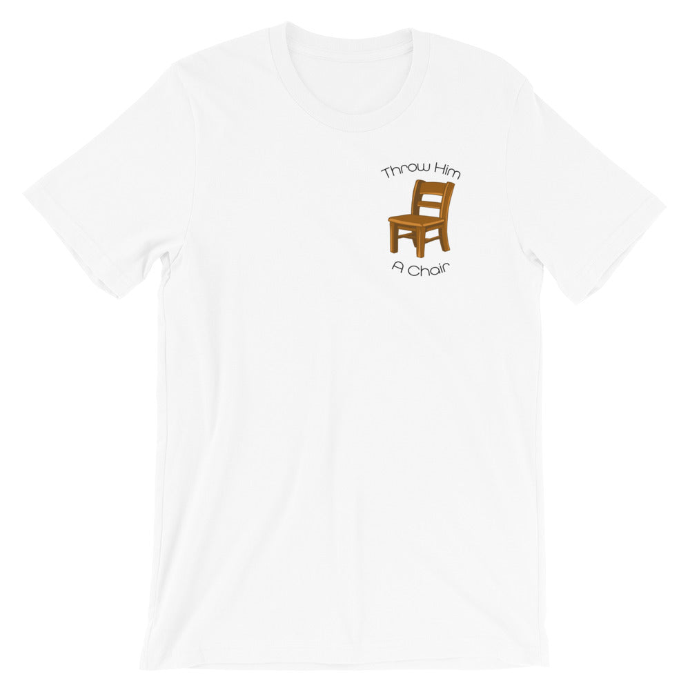 Throw Him A Chair Tee - Baseball Legend Apparel