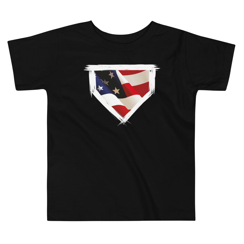 'Merica Toddler Tee - Baseball Legend Apparel