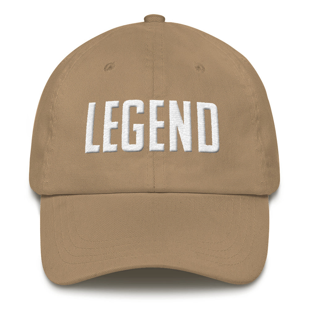 Legend Dad Hat - Baseball Legend Apparel