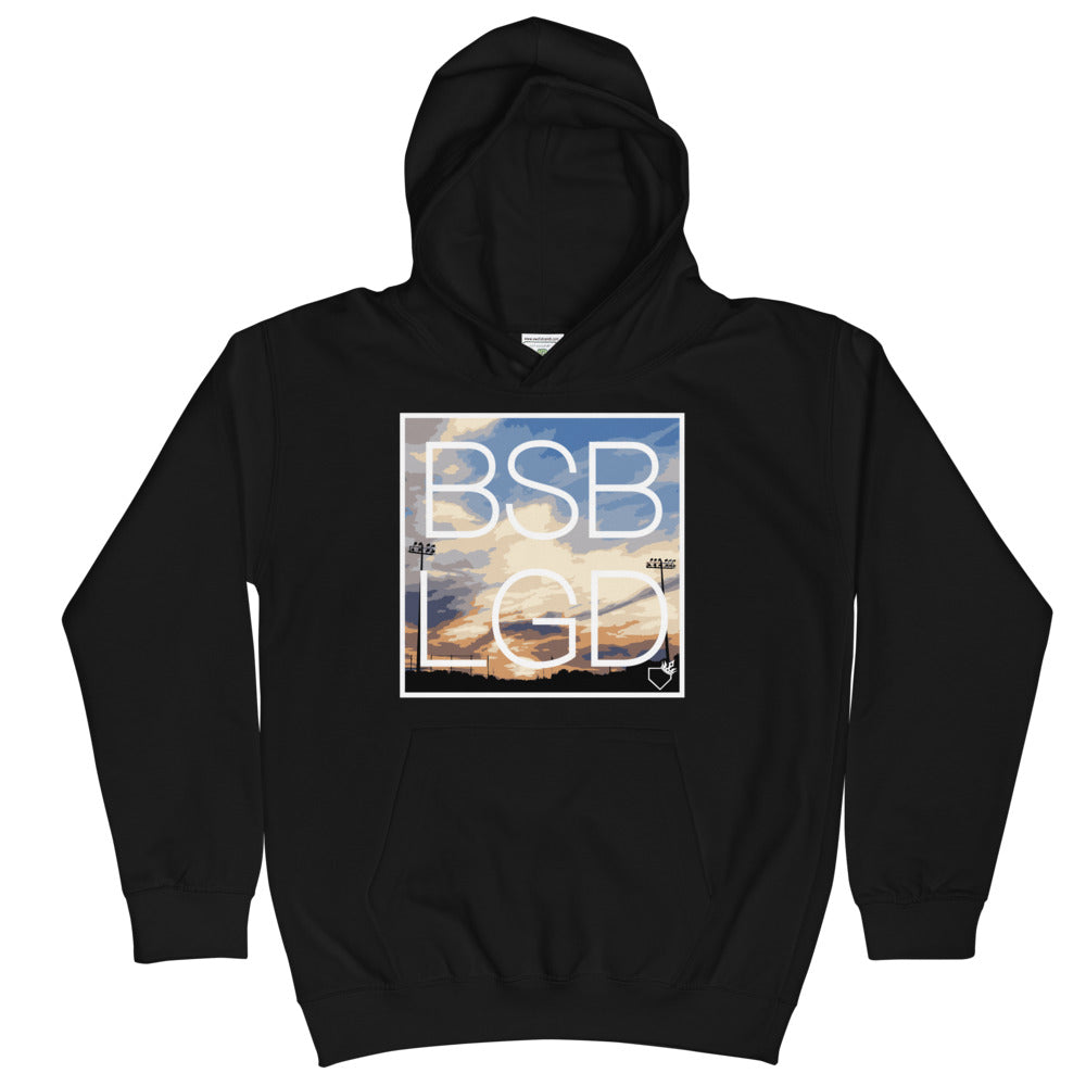 BSB LGD Special Edition Kids Hoodie - Baseball Legend Apparel