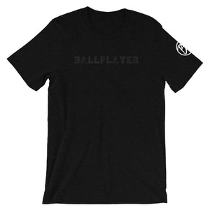 Blackout Ballplayer Tee - Baseball Legend Apparel