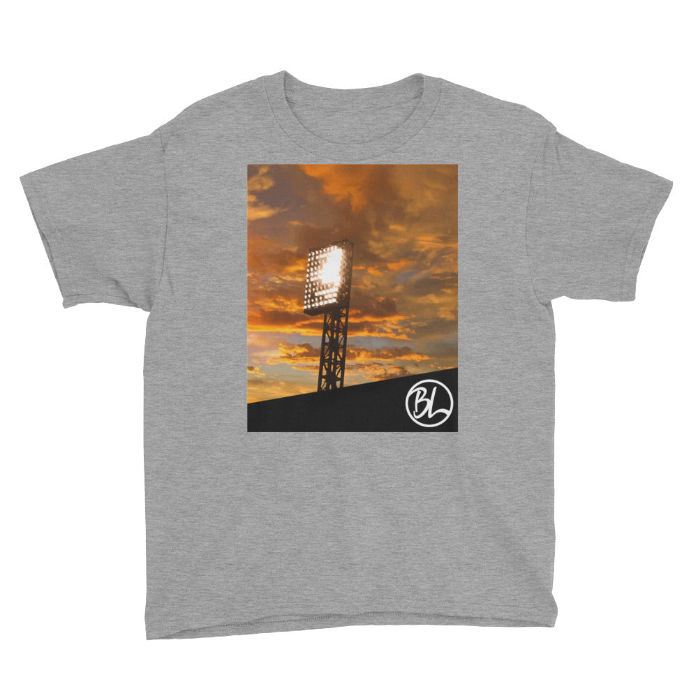 Under The Lights Youth Tee - Baseball Legend Apparel
