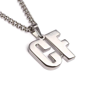 Stainless Position Pendant with Chain Necklace - Baseball Legend Apparel
