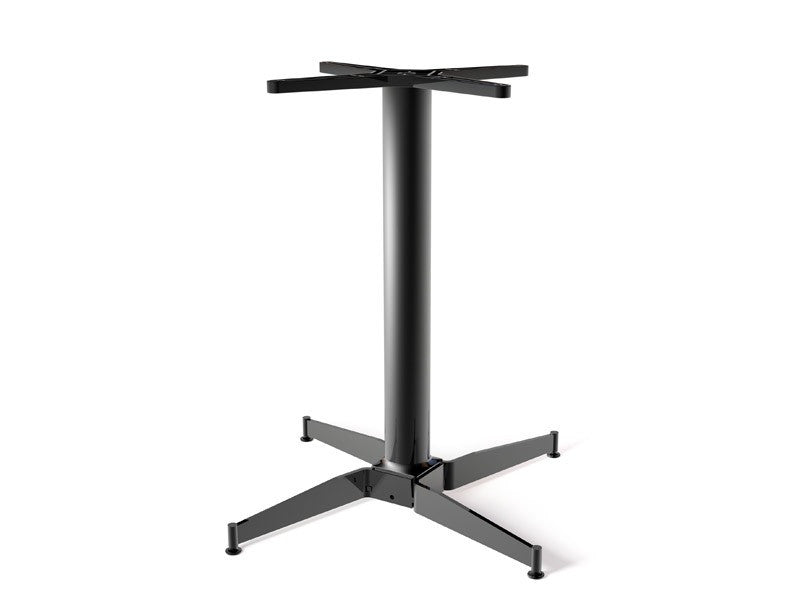 The No Rock Avenue Black Table Base Classic Criss Cross Style Base 27