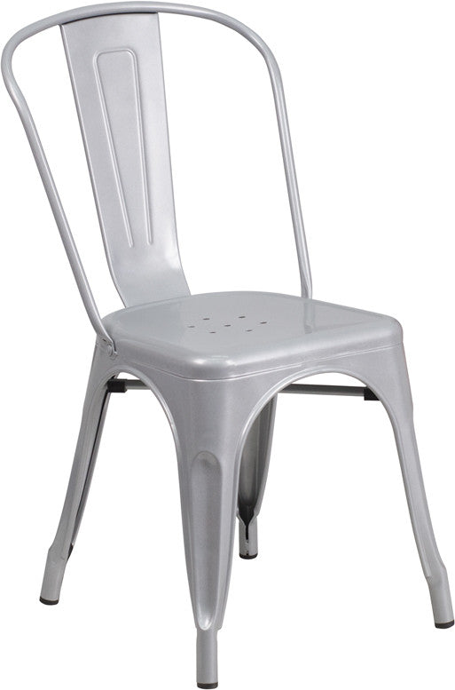 outdoor metal chair. TBD4001 Metal In-Outdoor Square Table Set With 2 Stack Chairs 23.75 8 \u2013 NoRockTableBases Outdoor Chair