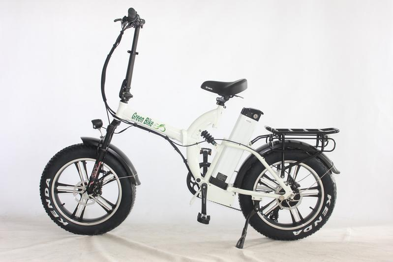 GB750 Fat Tire Folding 750 Watt 48 Volt Mag Wheels Electric Bike