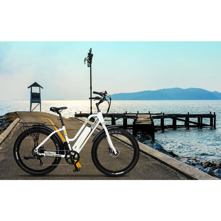 The Panther 500 watt 48 volt Beach Cruiser EBike - Best E-Bike Store