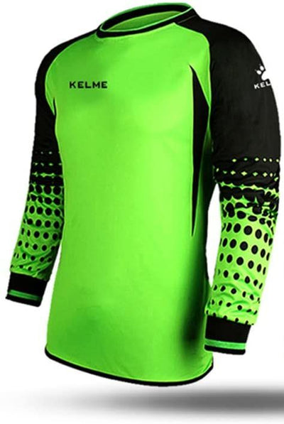 Kelme Stopped Green Goalkeeper Jersey - Adult