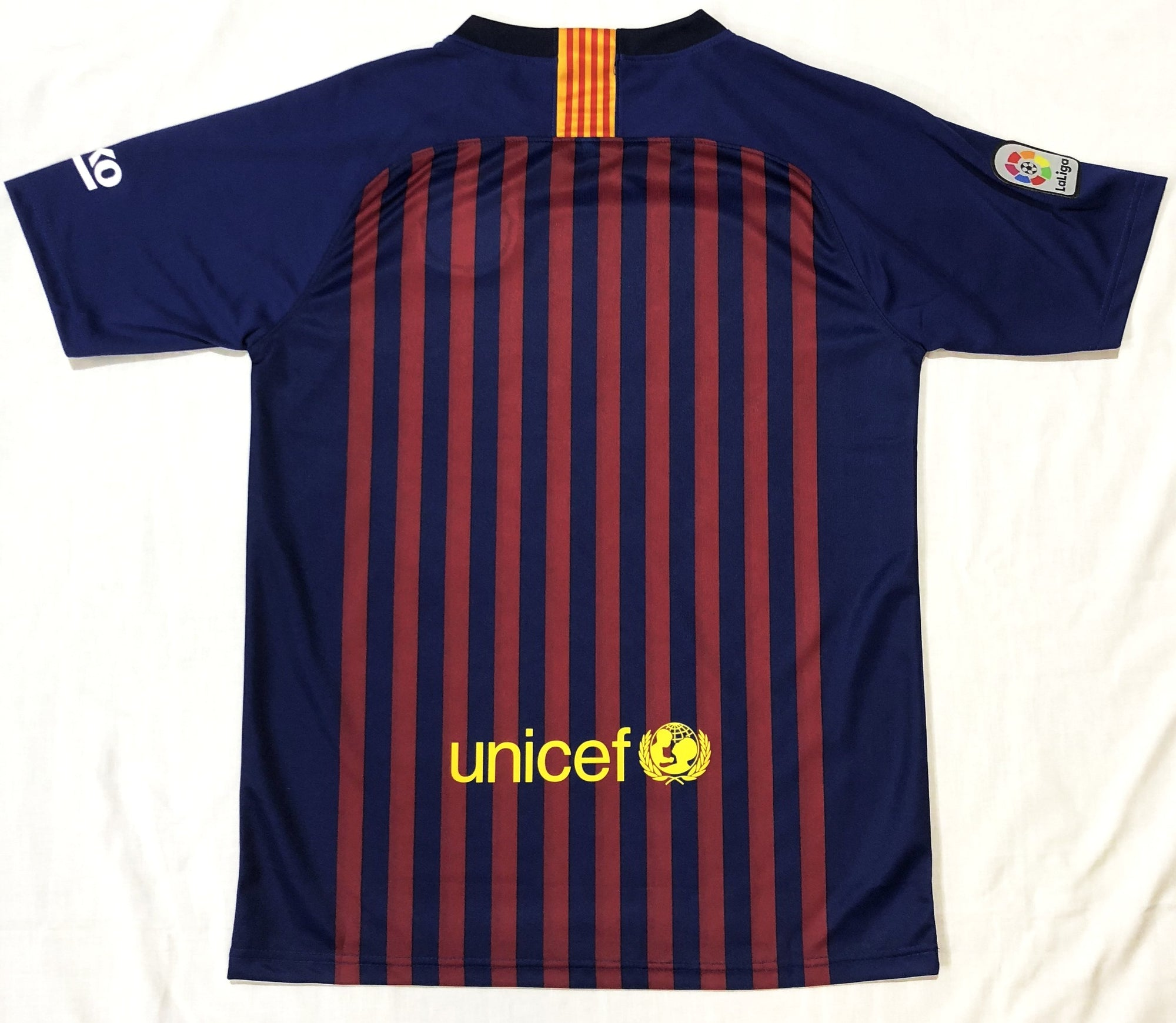 c16002ad8 Barcelona REPLICA 2018 19 Adult Home Shirt - Soccer Central