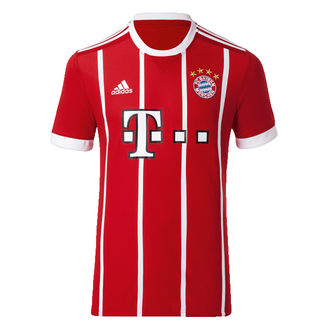 Bayern Munich Home Shirt 2017/18 Official Adidas - Youth