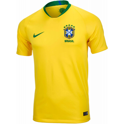 Brazil Home WC2018 Official Nike