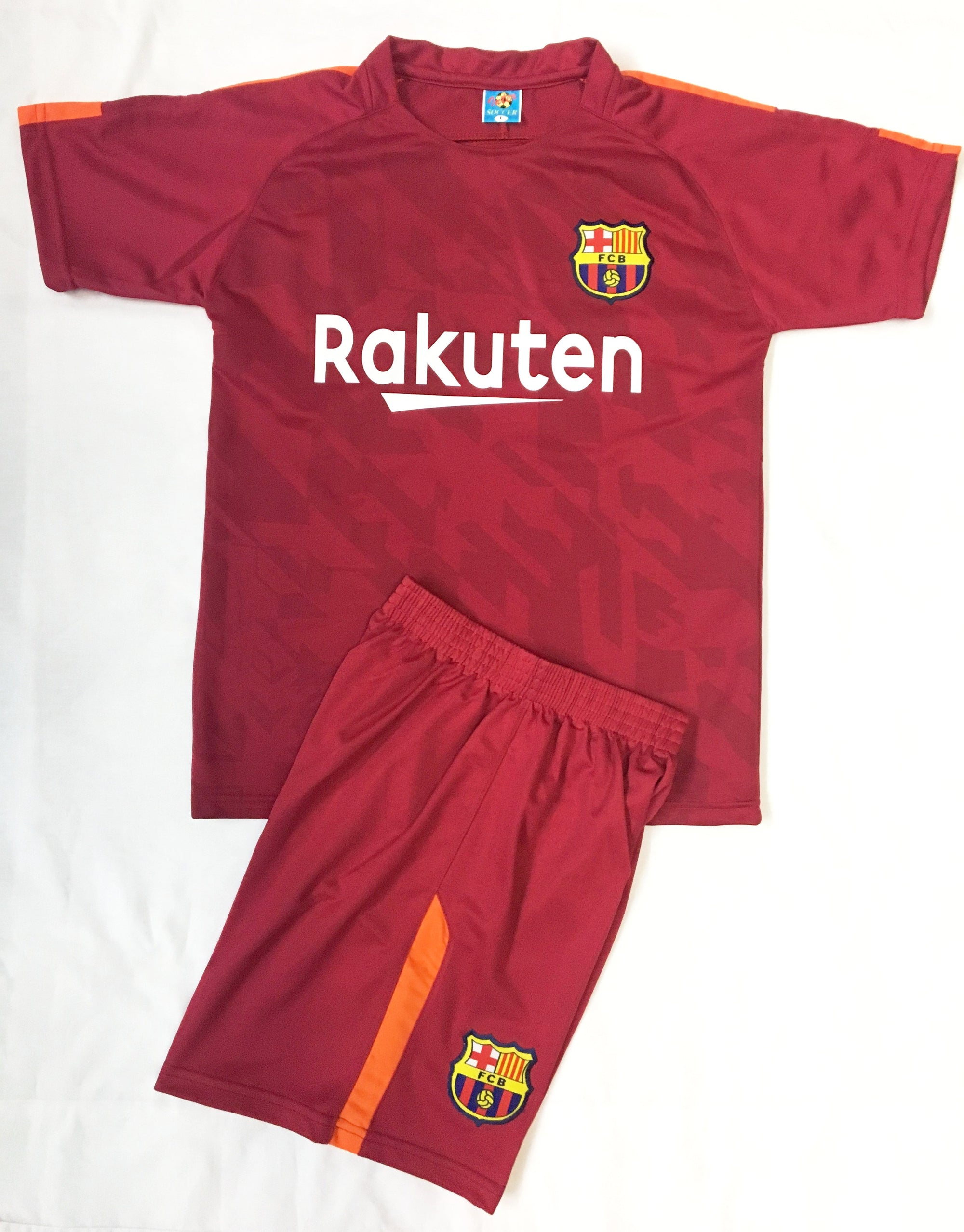 BARCELONA 3rd 2017/18  KIDS 2-PIECE SOCCER SET