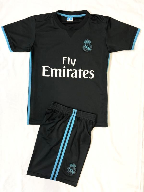 REAL MADRID AWAY 2017/18 KIDS 2-PIECE SOCCER SET