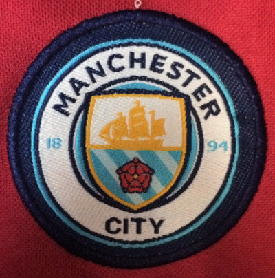 MANCHESTER CITY AWAY 2017/18 KIDS 2-PIECE SOCCER SET