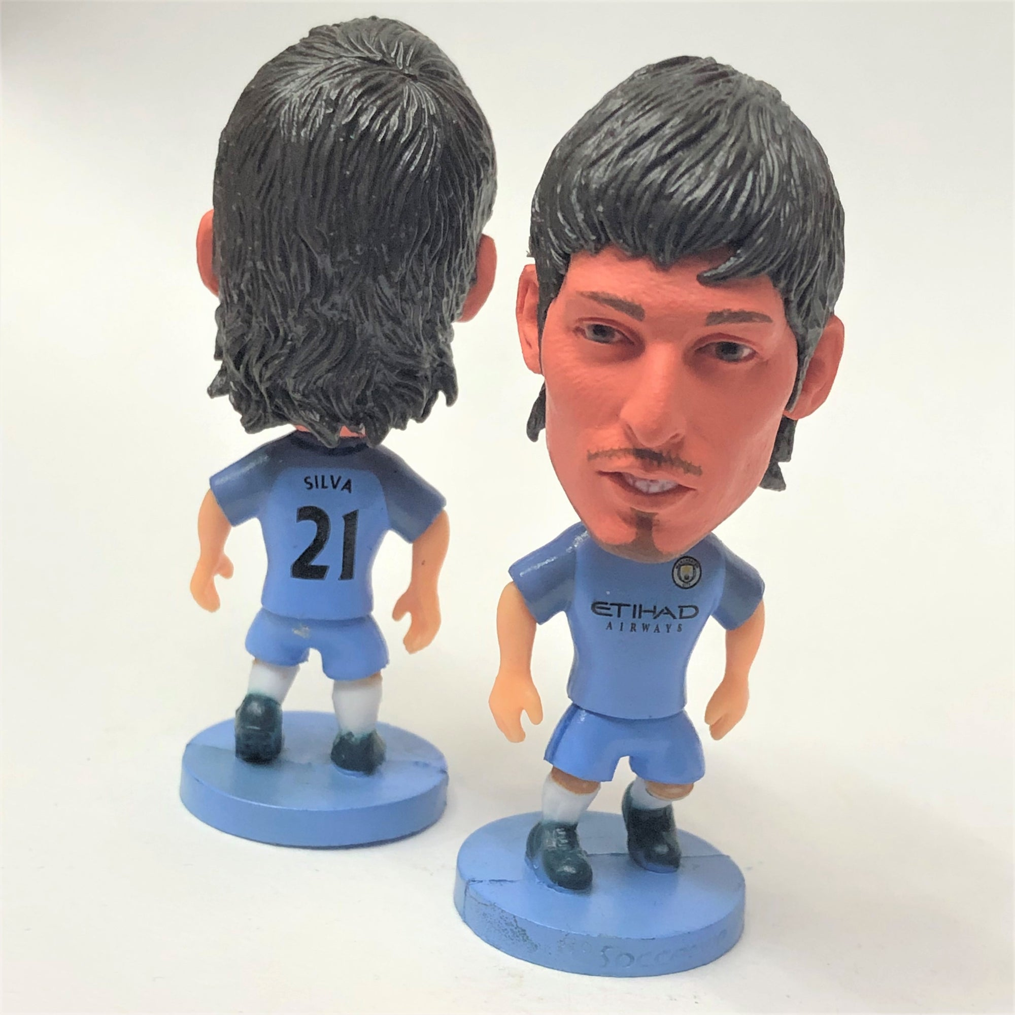 David Silva Manchester City Figurine