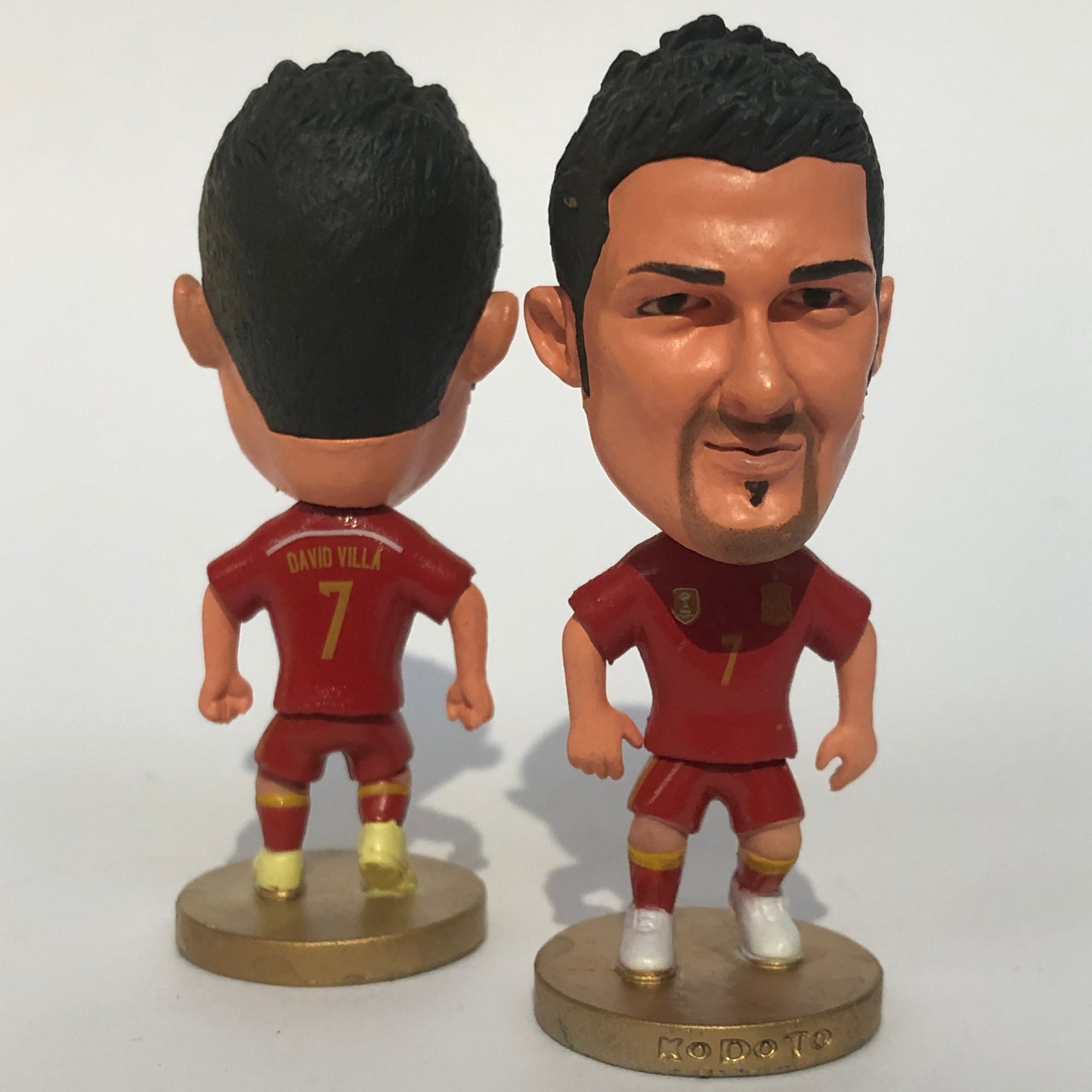 David Villa Spain Figurine