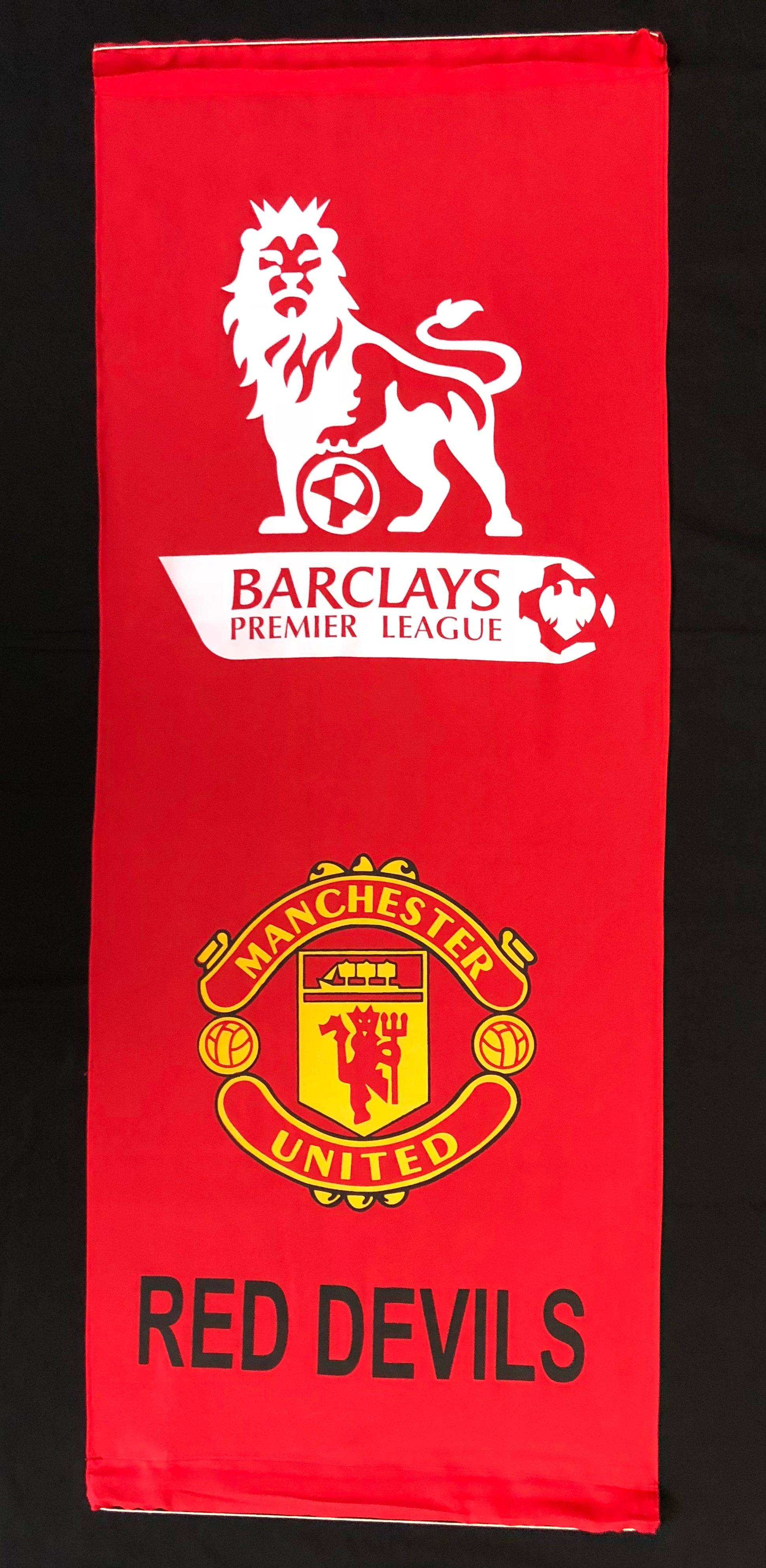 MANCHESTER UNITED WALL BANNER