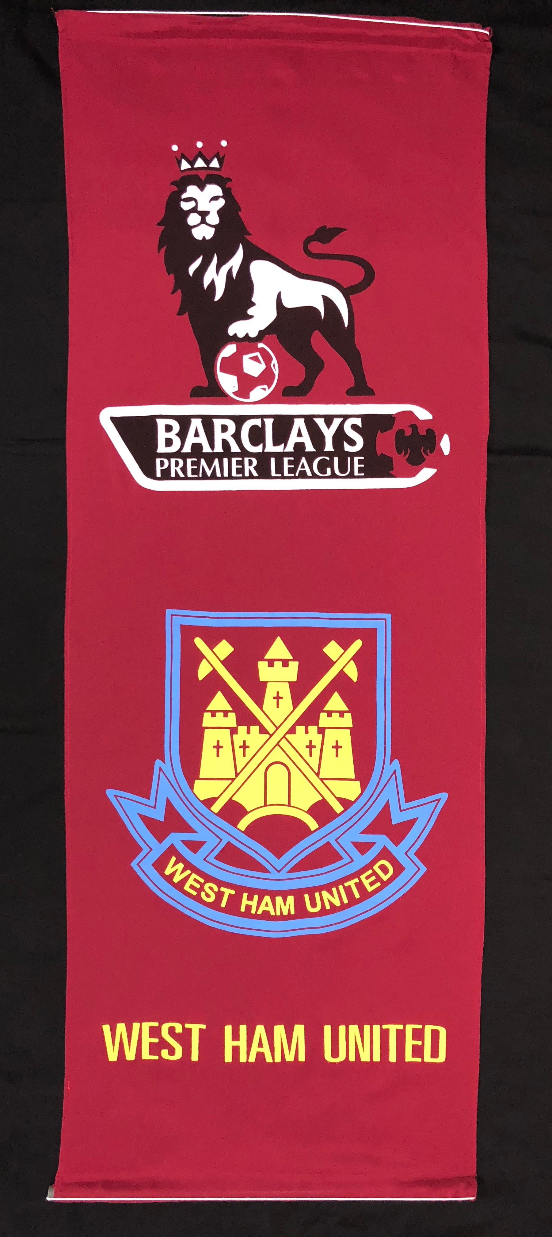 WEST HAM WALL BANNER