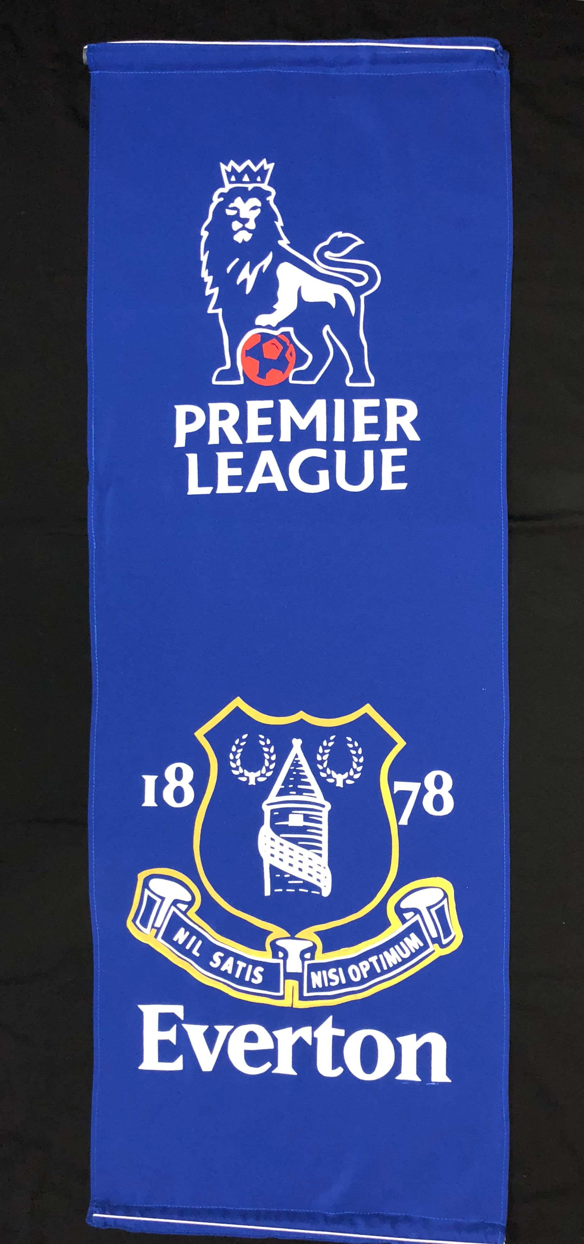 EVERTON WALL BANNER