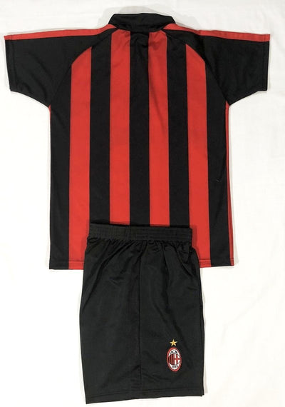 AC MILAN HOME 2018/19 KIDS 2-PIECE SOCCER SET