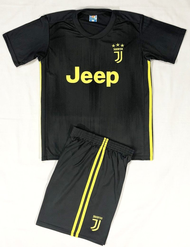 JUVENTUS THIRD 2018/19 KIDS 2-PIECE SOCCER SET