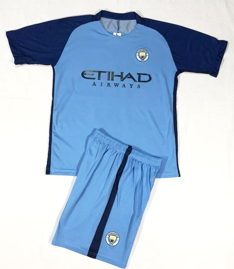MANCHESTER CITY HOME 2016/17 KIDS 2-PIECE SOCCER SET