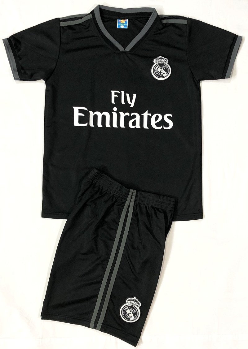 REAL MADRID AWAY 2018/19 KIDS 2-PIECE SOCCER SET