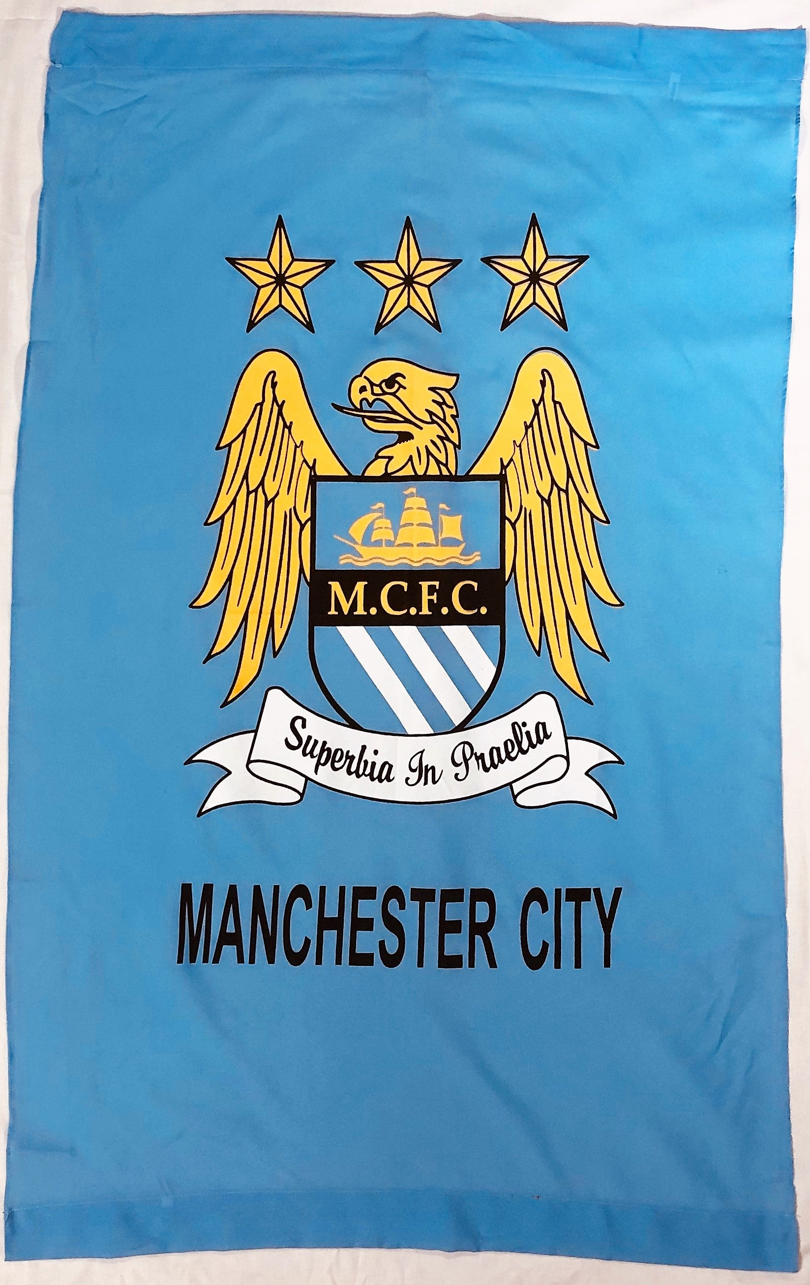 Manchester City Wall Flag
