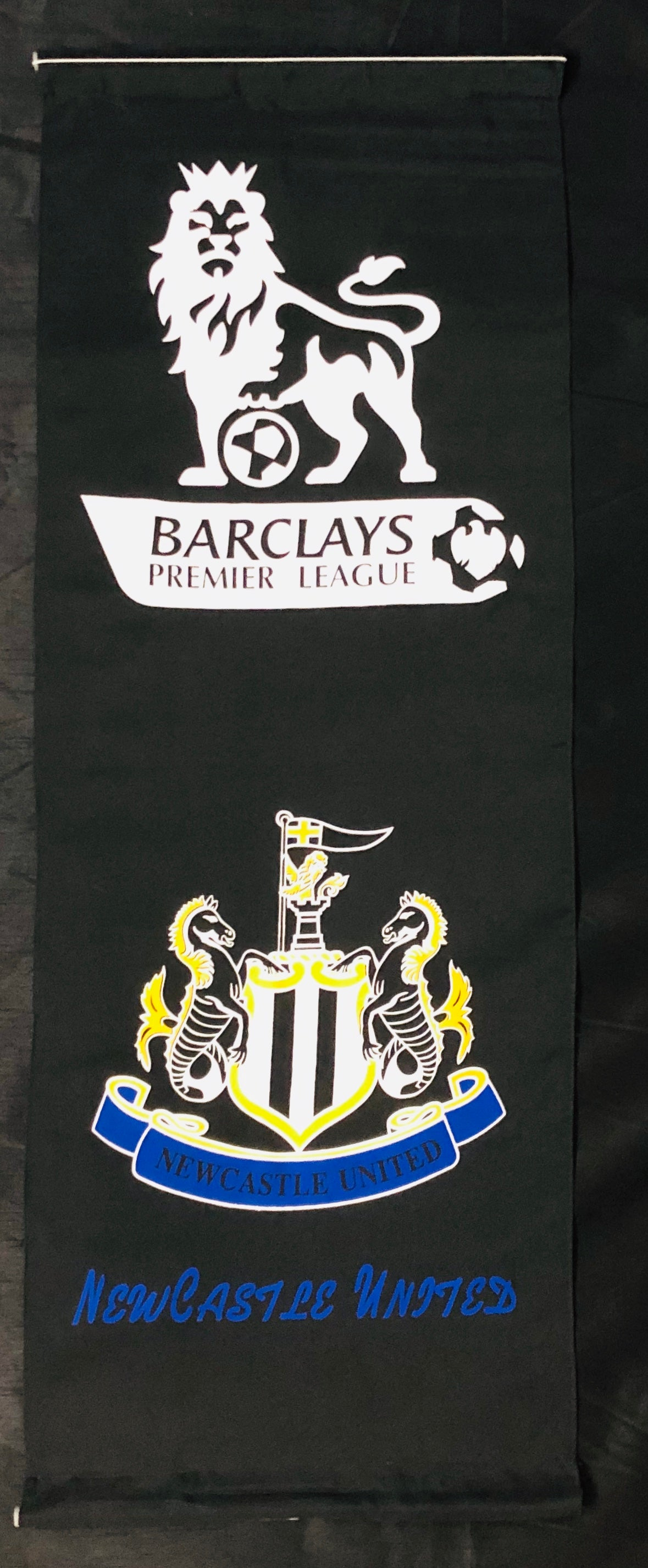NEWCASTLE UNITED WALL BANNER