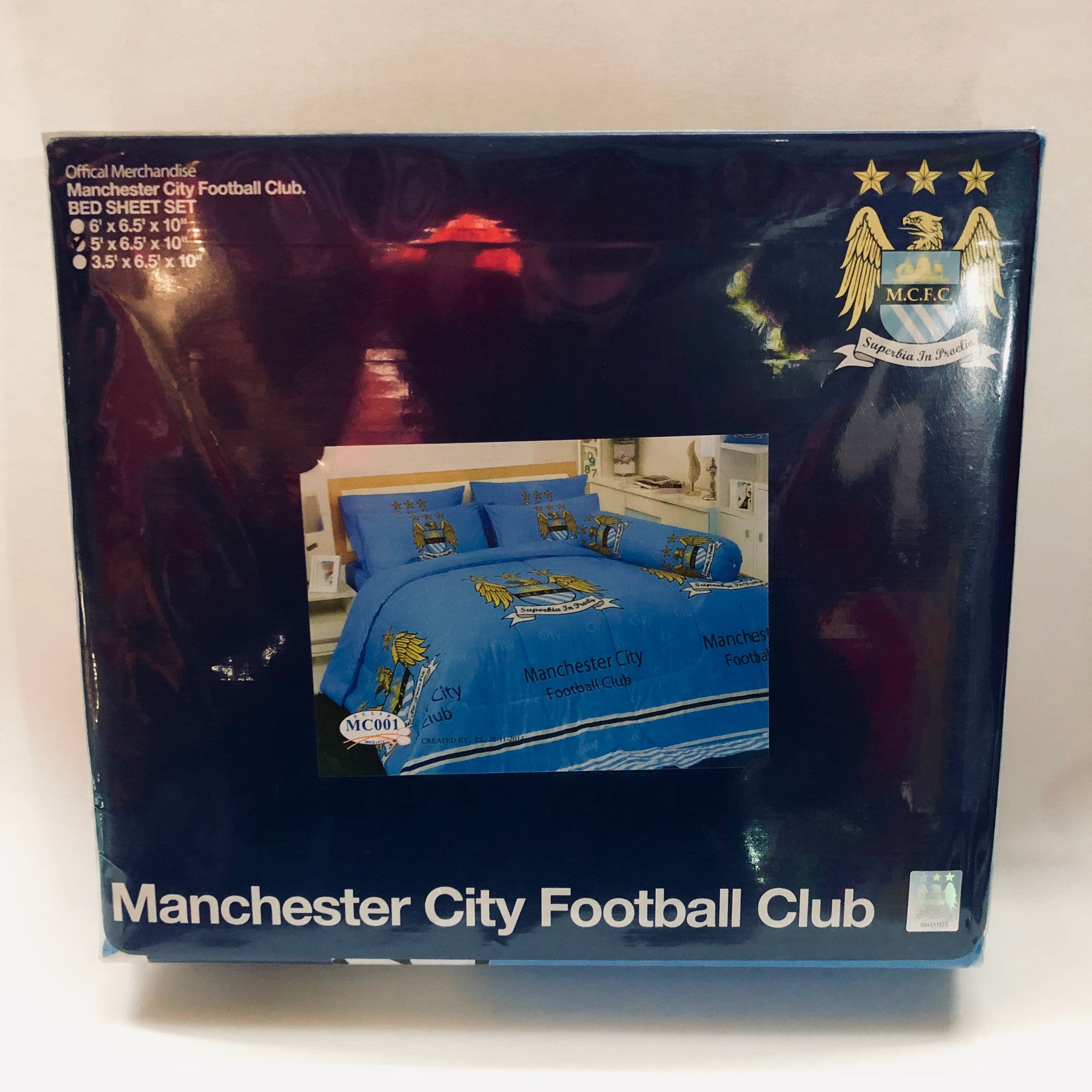 Manchester City Official Club Bedding - Single